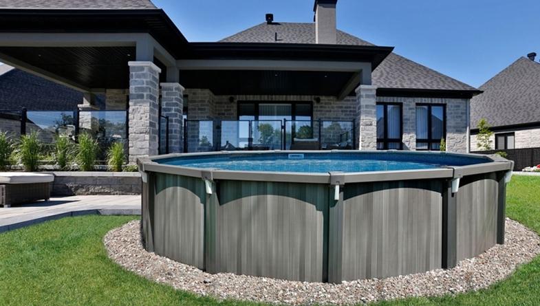 Primeau design for Prix piscine hors terre 24 pieds